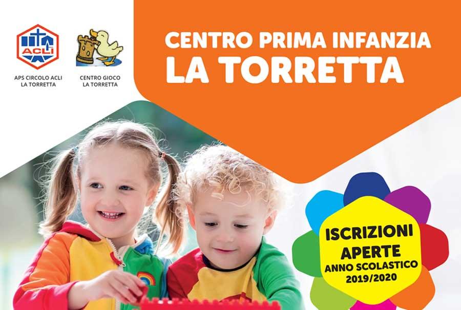 Centro prima infanzia La Torretta – Aperte le iscrizioni