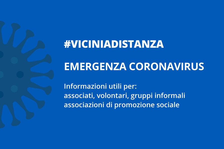 #viciniadistanza