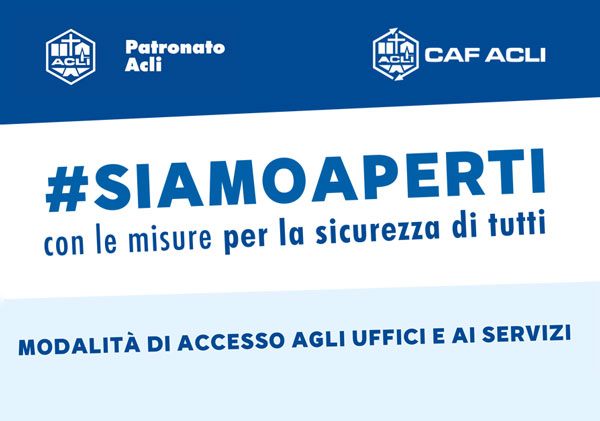 #SIAMOAPERTI